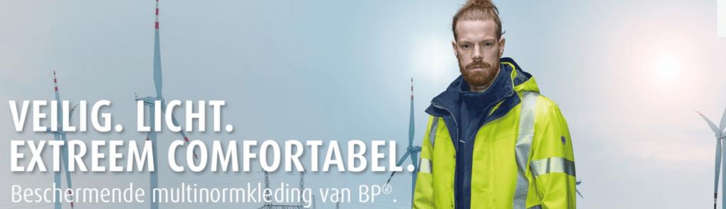 veilig, licht, extreem comfortabel. Beschermende multinorm van BP