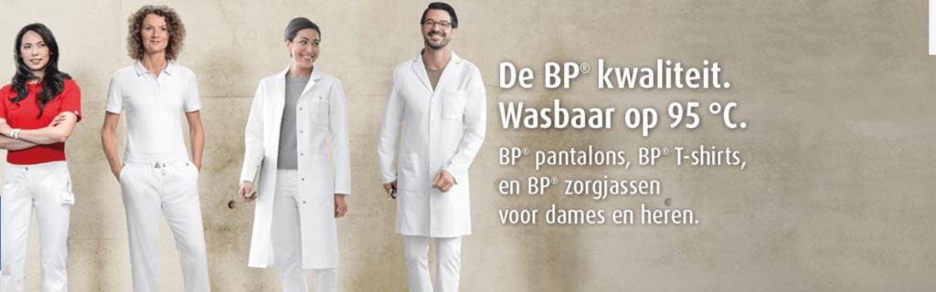 BP Zorgkleding is wasbaar op 95 graden