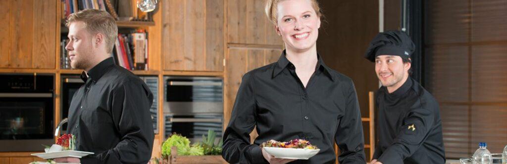 horecakleding van de berkel voor zowel de een kok als de bediening